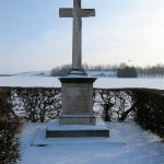 46th (North Midland) Div Memorial. Vermelles. January 2013