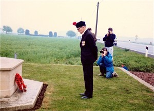 Alf Razzell. Royal Fusiliers. Remembers. 1984