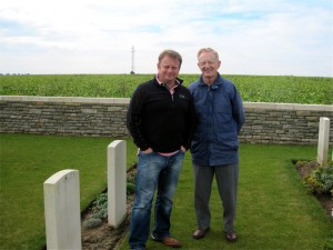 Father & Son, Peter and Jim Weston. 'In Dad's footsteps' Houdains lane 2012