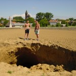 Noreuil. Arras. A hole in the ground just appeared 2005