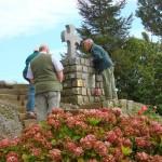 Private memorials Bullecourt