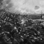 The German attack on the Nimy bridge at Mons