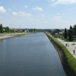 The canal at Mons