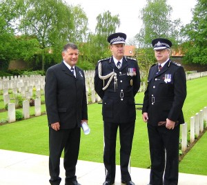 With Sir John Stevens QPM and John Grieve CBE
