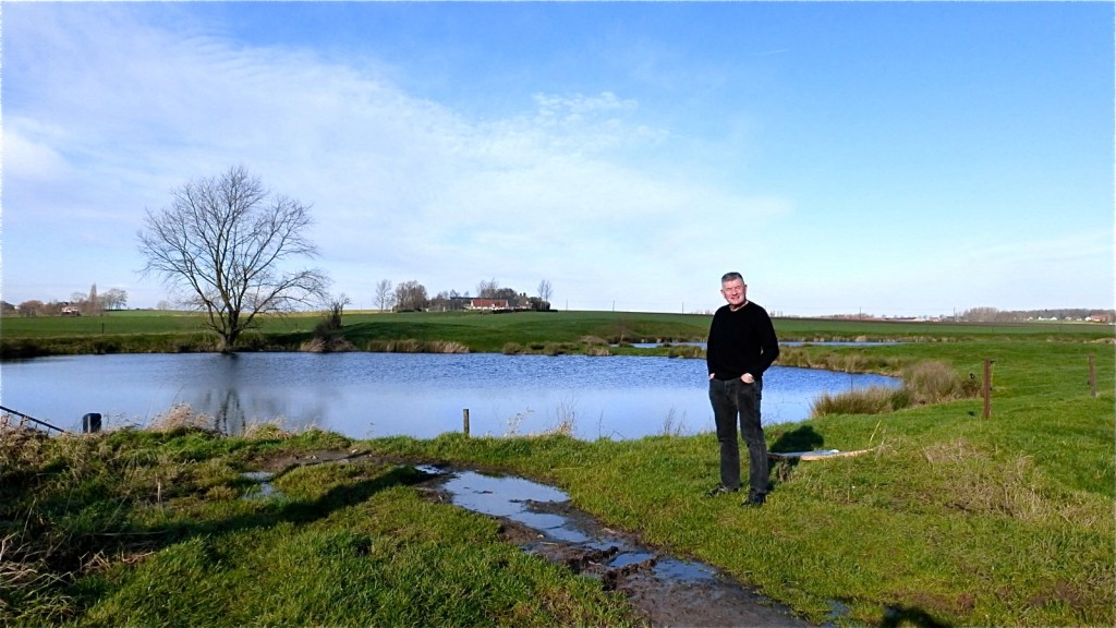 Messines Ridge. Kruisstraat Craters January 2015 041