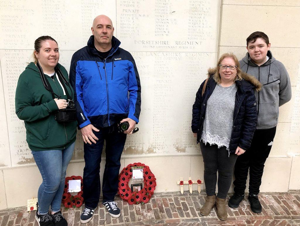 Paul, Cath, Lorna & Jack Bellis