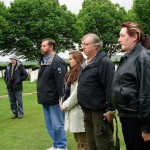 Australian friends pay their respects at Villers Brettoneux 2005