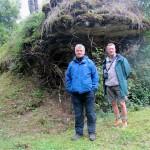 Dick Green and John Boitel-Gill Thiamont Ridge. October 2013