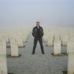Ovillers. Somme. January 2005