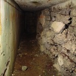 The battle scarred corridors of Fort Vaux