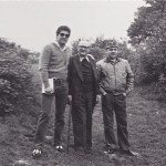 With Veteran Bill Hay at Lone Tree Crater 1980